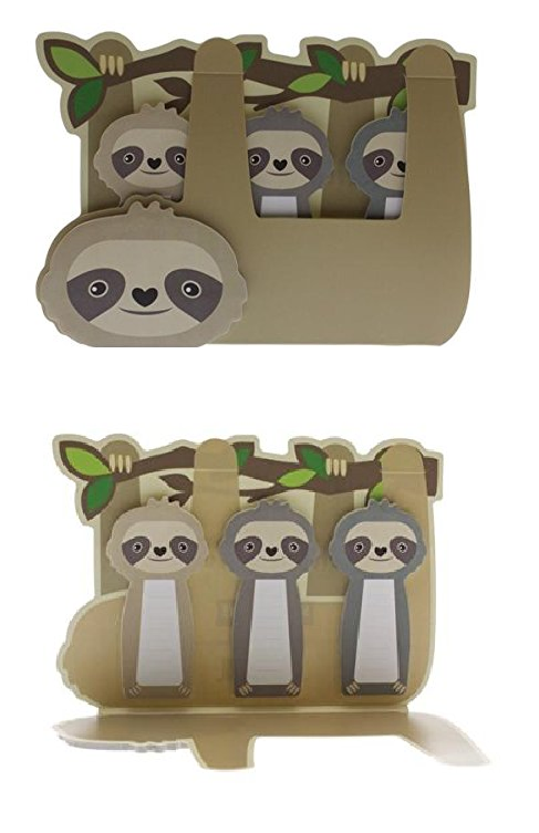Sloth Sticky Note Set