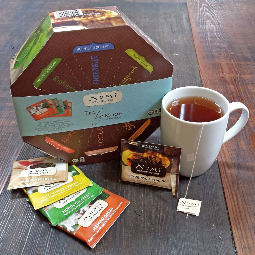Tea by mood gift set for tea enthusiasts.
