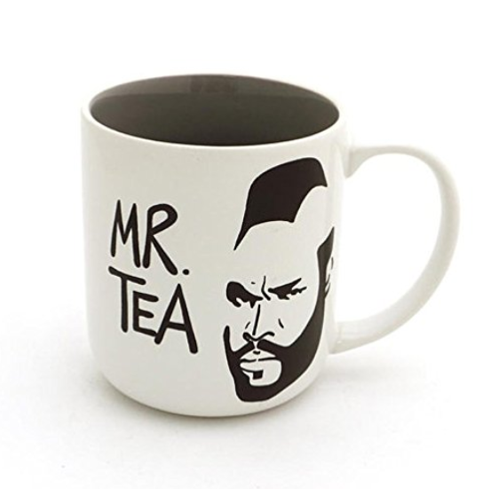 Mr. tea lovers mug. A great gift for any lover of tea.